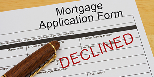 Denied Mortgage Financing